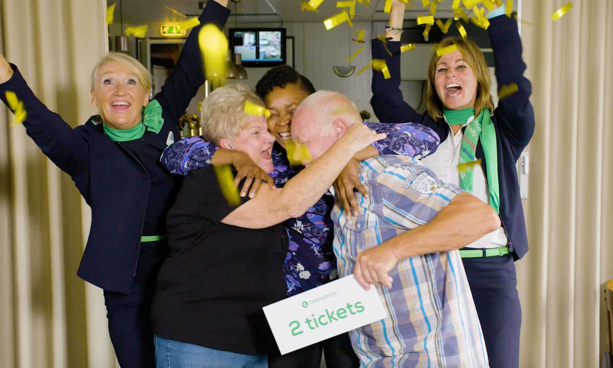 Transavia celebrates stay-at-homers